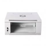 DIGITUS Wallmount cabinet 6U, 600x450mm, grey RAL 7035