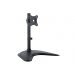 Monitor Stand, 1xLCD, max. 27'', max. load 15kg,  adjustable and rotated 360°