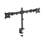 Mount Monitor Stand, 2xLCD, max. 27'', max. load 8kg, adjustable and rotated 360