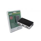 DIGITUS Hub 4-port USB 2.0 HighSpeed, Power Supply, black