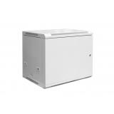 DIGITUS Wallmount cabinet 12U, 600x600mm, grey RAL 7035