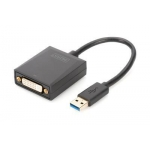 Graphic Adapter DVI to USB 3.0 1080p FHD , aluminium