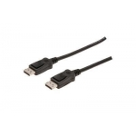 Cable DisplayPort 1080p 60Hz FHD Type DP/DP M/M with interlock black 2m