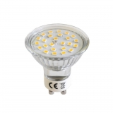 ART LED Bulb, GU10, 3.6W,25xSMD2835, AC230V, 320lm!, WW
