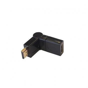 ART ADAPTER HDMI female/HDMI male rotating180  degrees oem