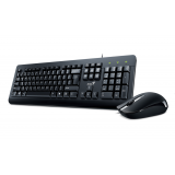 KM-160 Black USB Wird KB+Mouse Combo Standard keyboard