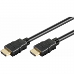 Techly Monitor cable HDMI-HDMI M/M 1.4 Ethernet, shielded, 2m, black