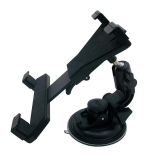Techly Car windscreen mount holder for Tablet / iPad 7''-10.1'' black