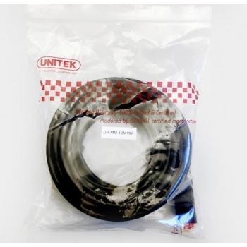 Unitek Cablu DisplayPort M/M, 10m