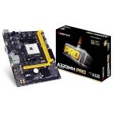 Biostar A320MH, AM4, AMD A320, DDR4-2667, 4 x SATA3, 2 x USB 3.1