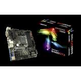 Biostar B450GT3, AM4, AMD B450, 4xDDR4-3200, 6xSATA3 6Gb/s, USB-C, HDMI, DVI-D