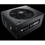 Corsair Power Supply HX850, 850W, 80 PLUS® Platinum, 135mm fan, modular PSU