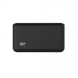 Silicon Power S100 Power Bank 10000mAH, dual output USB, LED, Black