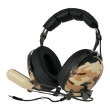 Arctic gaming headset P533 Military, over-ear, strong bass