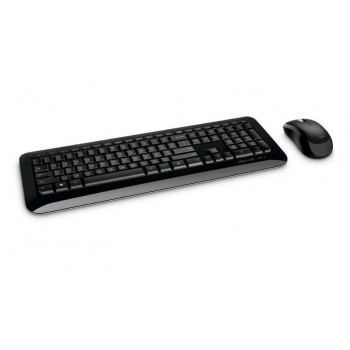 KIT Wireless Tastatura+Mouse Microsoft Desktop 850 Business Mouse Optic 3 Butoane 1000dpi Tastatura Multimedia 104 taste USB Black