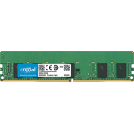 Crucial 8GB DDR4 2666MT/s (PC4-21300) CL19 SR x8 ECC Registered DIMM 288pin