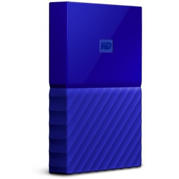 External HDD WD My Passport 2.5'' 1TB USB 3.0 Blue