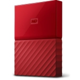 External HDD WD My Passport 2.5'' 1TB USB 3.0 Red