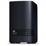 NAS WD My Cloud EX2 Ultra, RAID, 6TB, 10/100/1000 Mb/s, black