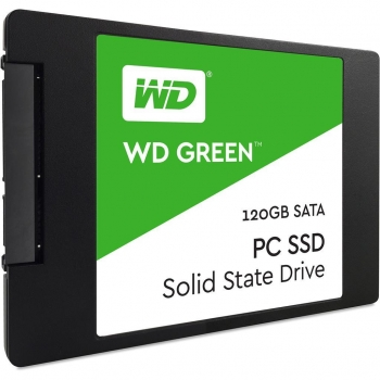 "SSD Western Digital New Green 120GB SATA3 2.5"" WDS120G1G0A"
