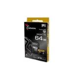 Adata microSDXC 64GB Class 10 citit/scris 275/155MBps