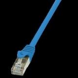 LOGILINK - Patchcord Cat.5e F/UTP 10m blue