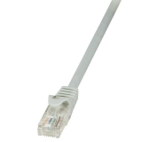 LOGILINK - Cablu U/UTP, cat 6, EconLine 0,5m, gri (patchcord)