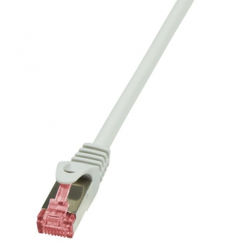 LOGILINK - Cablu S/FTP PIMF, cat 6, PrimeLine 0,5m, gri (patchcord)
