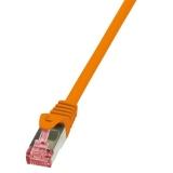 LOGILINK - Patchcord Cat.6 S/FTP PIMF PrimeLine 3,00m orange