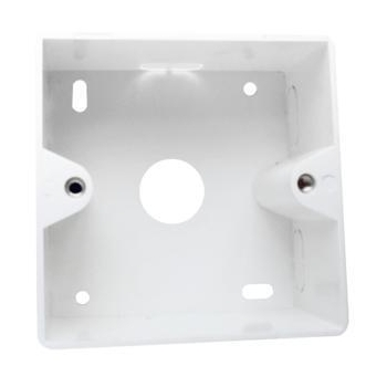 LOGILINK- Outlet Surface Mounting Box for Faceplates, pearl white