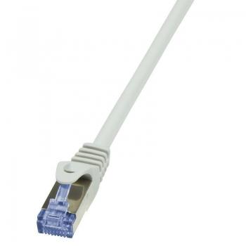 LOGILINK - Patchcord Cat.6A 10G S/FTP PIMF PrimeLine 0,50m grey