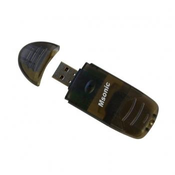 MSONIC Memorie Card Reader SDHC/microSD/miniSD/MMC/RS-MMC/TF USB 2.0 negru