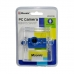 MSONIC Webcam cu microfon USB 2.0, 3 led, MR1803B albastru