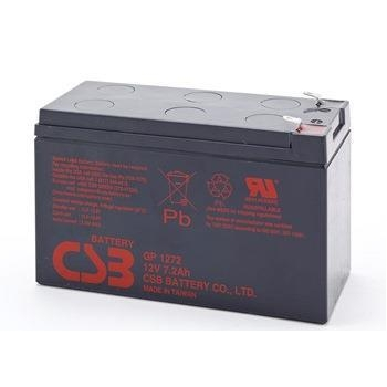 CSB kit 12 rechargeable batteries GP1272 F2 12V/7.2Ah