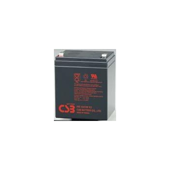 CSB rechargeable battery HR 1221W F2 12V/5.1Ah