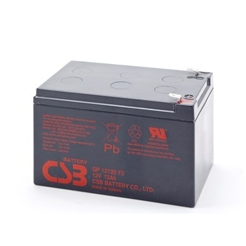 CSB battery GP12120F2 12V/12Ah