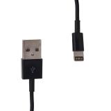 Whitenergy Cablu USB 2.0 pt iPhone 5 transfer/incarcare, 200cm, negru