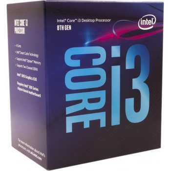Procesor Intel Coffee Lake Core i3-8100 Quad Core 3.6GHz Cache 6MB Socket 1151 v2 BX80684I38100