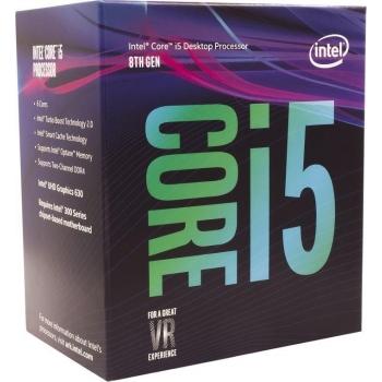 Procesor Intel Core i5-8400 Hexa Core 2.80GHz 9MB, Socket LGA1151 BX80684I58400