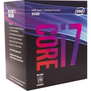 Procesor Intel Core i7-8700 Hexa Core 3.60GHz 12MB Socket LGA1151v2 BX80684I78700