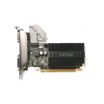 Placa Video Zotac nVidia GeForce GT 710 2GB GDDR3 64 bit PCI-E 2.0 VGA DVI HDMI ZT-71302-20L