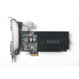 Placa Video Zotac GeForce GT 710 1GB GDDR3 64bit PCI-E x1 HDMI DVI VGA ZT-71304-20L