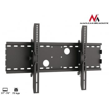 Maclean MC-521B  TV Wall Mount Bracket LCD LED Plasma 37'' - 70'' 75kg