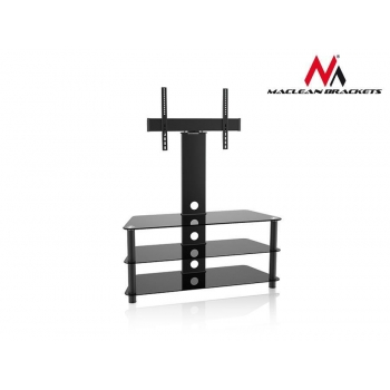 Maclean MC-641 RTV table with the handle to the TV 32-55'' 40kg TV Stand