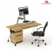 Maclean MC-728 Single Display Sit-Stand Workstation Desk Mount