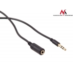 Maclean MCTV-819 Jack cable 3.5mm jack-plug 2m black