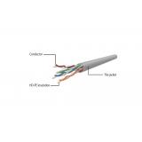Gembird Patch cord UTP Cat6, 0.25 m, black