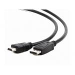 Gembird cable DISPLAYPORT (M) -> HDMI (M) 10m