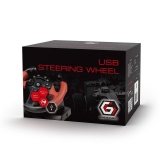Gembird USB vibrating racing wheel (PC/PS3)