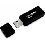 Memorie USB Integral 64GB USB 3.0 Black INFD64GBBLK3.0